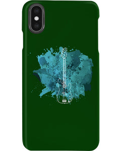 Vaporous Bass Guitar Art Custom Design For Music Instrument Lovers Phone case