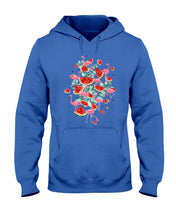 Load image into Gallery viewer, Flamingo Fruit Watermelon  Special Unique Custom Design Hoodie