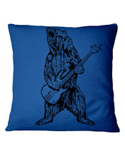Load image into Gallery viewer, The Bear Play Guitar Funny Gift For Bass Guitar Lovers Pillow Cover