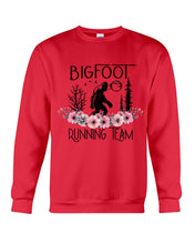 Load image into Gallery viewer, Bigfoot Running Team Custom Design Gift For Bigfoot Fans Sweatshirt