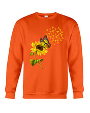 Load image into Gallery viewer, Butterfly Sunflower Nurse Custom Gift For Friends Sweatshirt