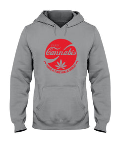 Enjoy Cannabis Have A Toke And A Smile Trending Hoodie