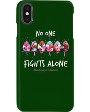 Load image into Gallery viewer, No One Fights Alone For Breast Cancer Awareness Phone case