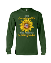 Load image into Gallery viewer, Just A Granddaughter Who Is Proud Of Her Vietnam Grandpa Gifts Unisex Long Sleeve