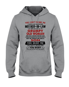 I Have An Awesome Mother-In-Law A Grumpy Old Woman Hoodie