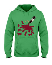 Load image into Gallery viewer, Cats And Wine Great Gift For Wine Lovers Who Loves Cat Hoodie