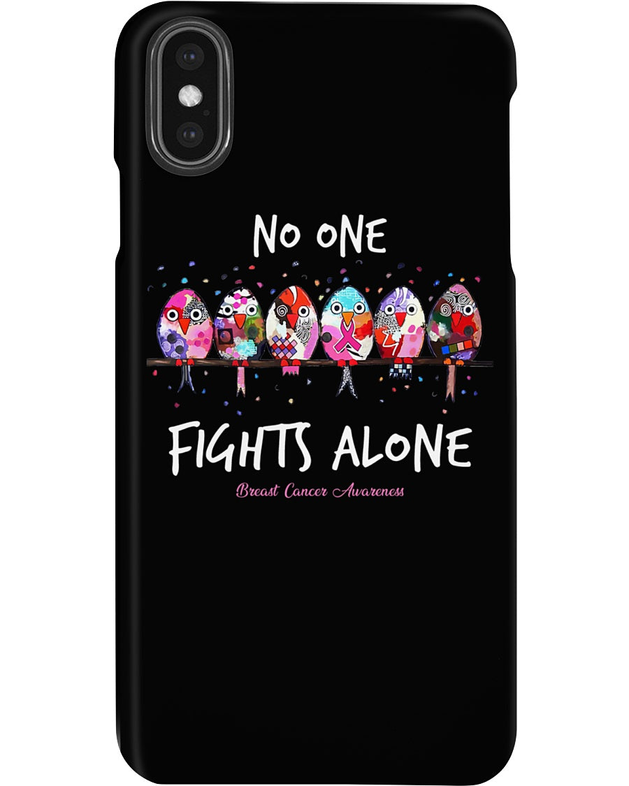 No One Fights Alone For Breast Cancer Awareness Phone case