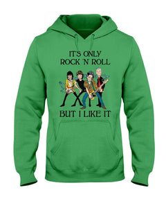 It's Only Rock 'N' Roll But I Like It Custom Design Hoodie