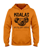 Load image into Gallery viewer, Koalas Are My Spirit Animal Gifts For Koala Lovers Hoodie