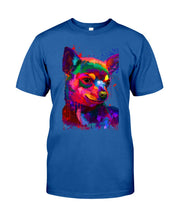 Load image into Gallery viewer, Chihuahua Watercolor Special   Custom Design For Dog Lovers Guys Tee