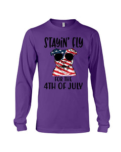 Staying Fly For The 4Th Of July Custom Design Unisex Long Sleeve