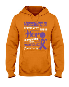 Some People Never Meet Their Her Pancreatic Cancer Awareness Hoodie