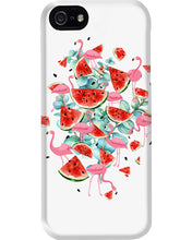 Load image into Gallery viewer, Flamingo Fruit Watermelon  Special Unique Custom Design Phone case