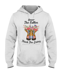 Honor The Fallen Thank The Living Gifts Hoodie