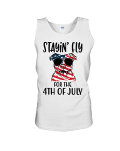 Staying Fly For The 4Th Of July Custom Design Unisex Tank Top