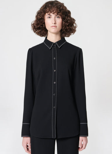 Basic shirt with stitching detail - ESCADA ?id=16490454909060