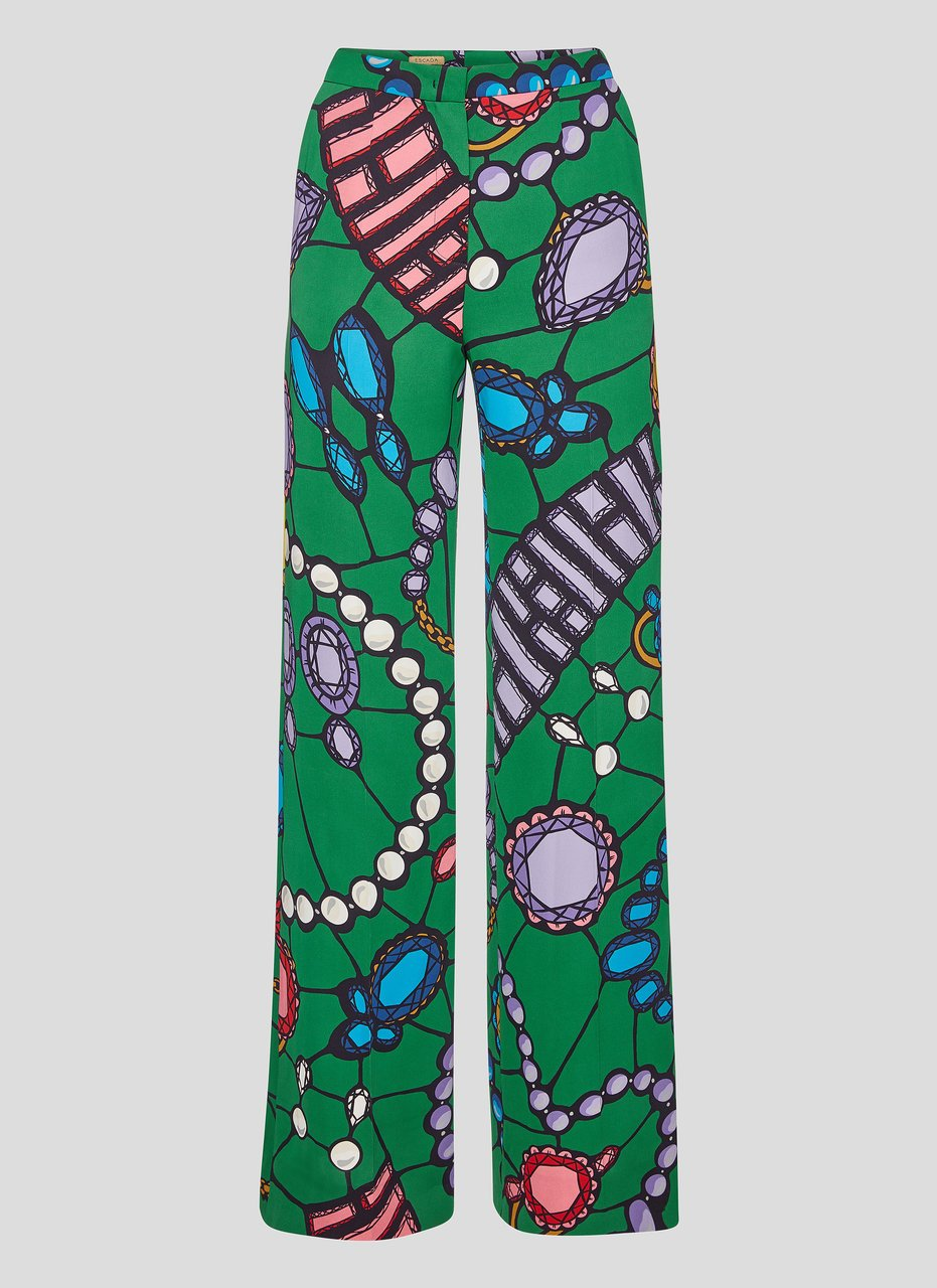 ESCADA Residency Collection - Jewel Printed Pants