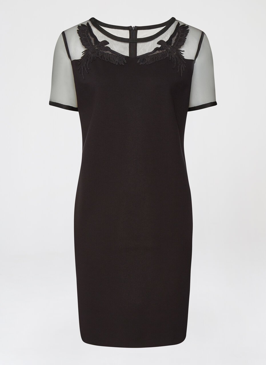 Milano Jersey Dress With Tulle - ESCADA ?id=16489920102532