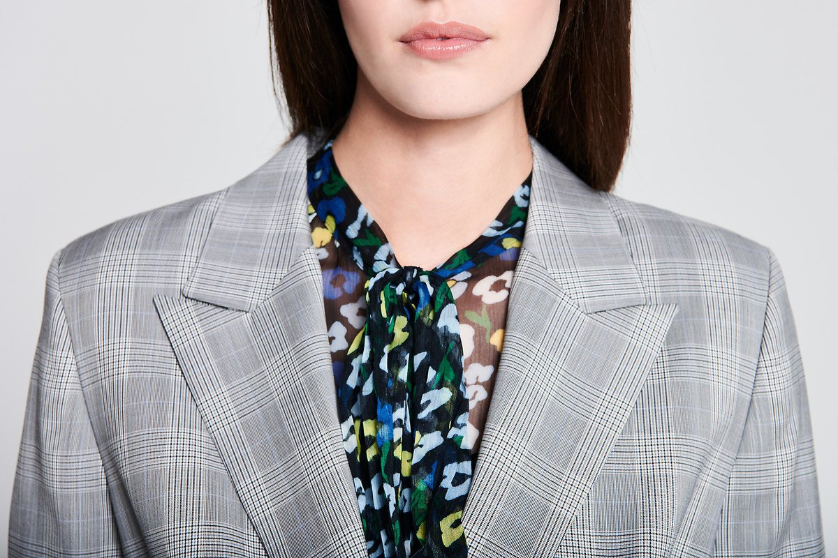 Wool Check Blazer - ESCADA ?id=16179944718468
