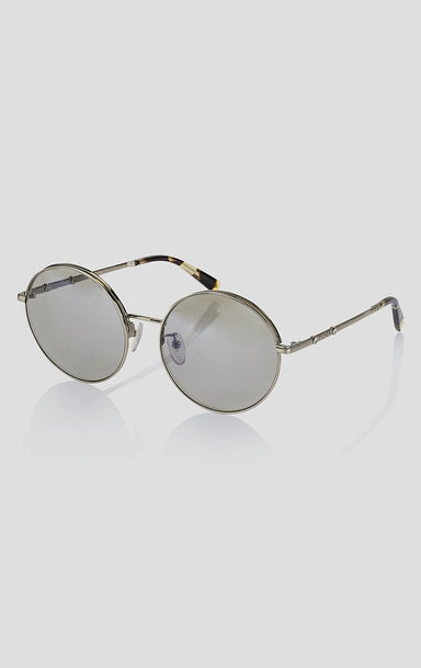 ESCADA Round Mirrored Sunglasses
