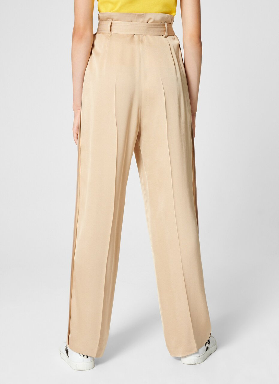 Crepe Belted Wide-Leg Pants - ESCADA ?id=16464465756292