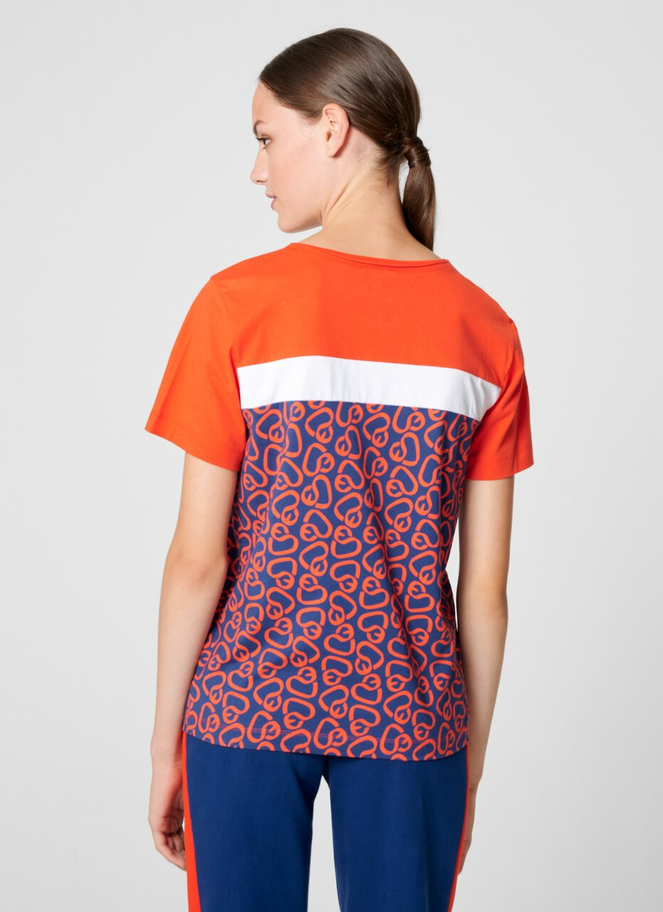 Color Block Logo T-shirt - ESCADA