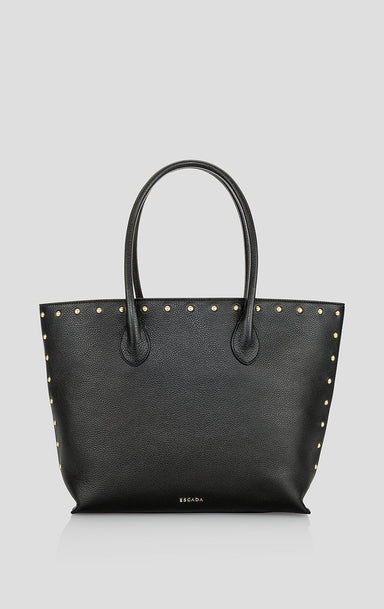 Studded Leather Tote Bag - ESCADA ?id=16401160667268