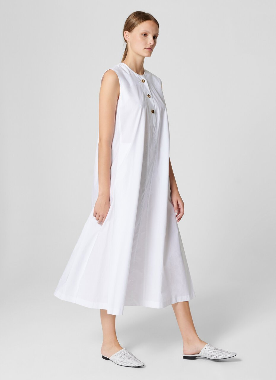 Cotton A-line Midi Dress - ESCADA ?id=16402068897924