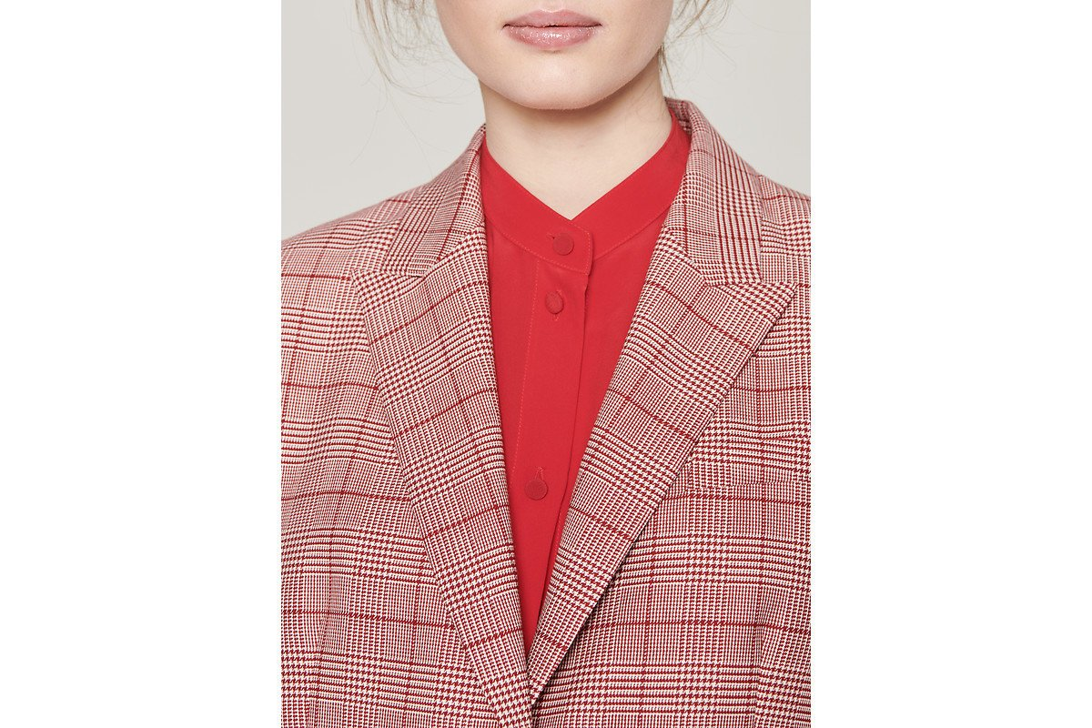 Virgin Wool Check Blazer - ESCADA ?id=16183837720708