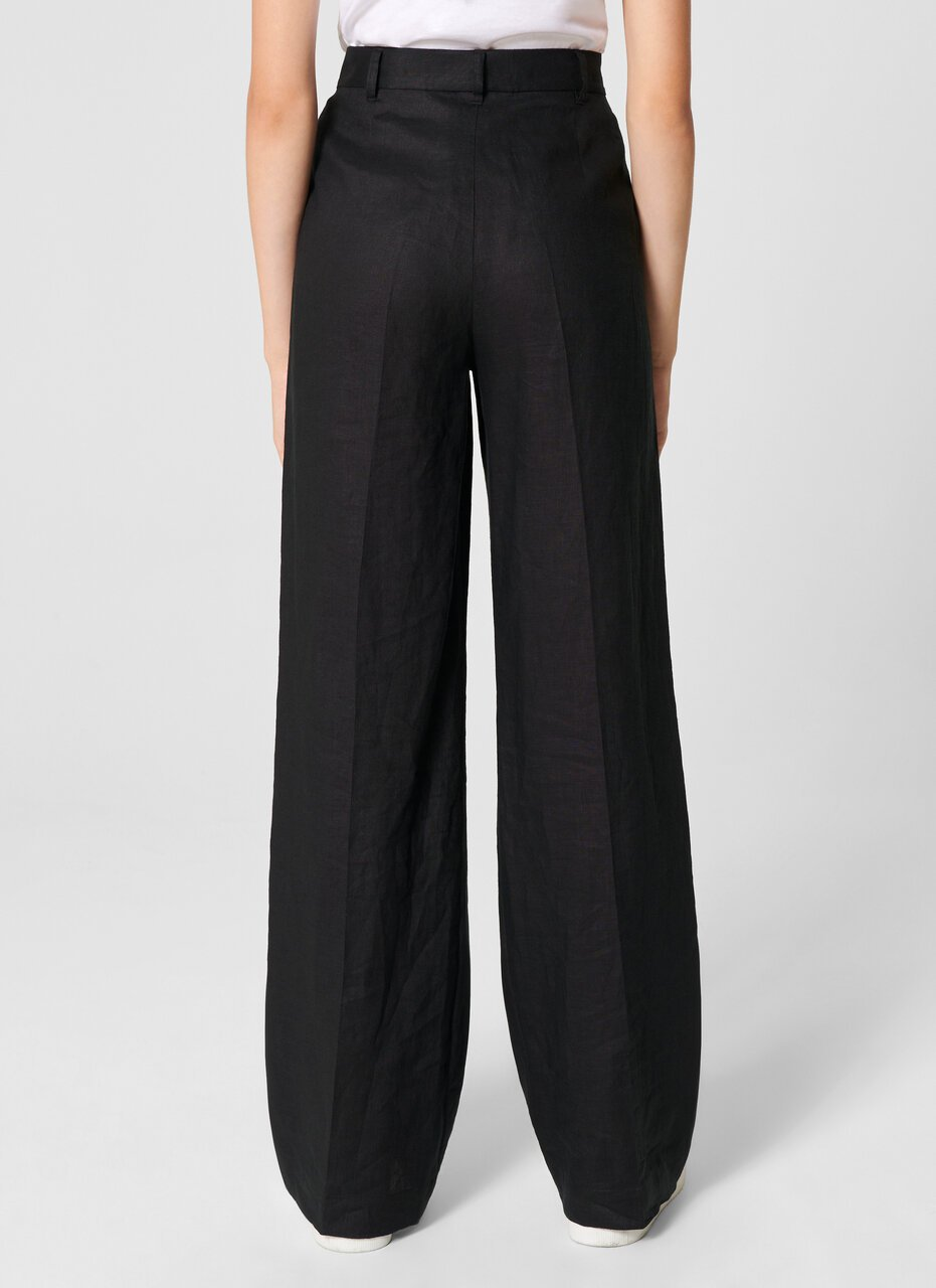Linen Straight Pants - ESCADA ?id=15624849096836