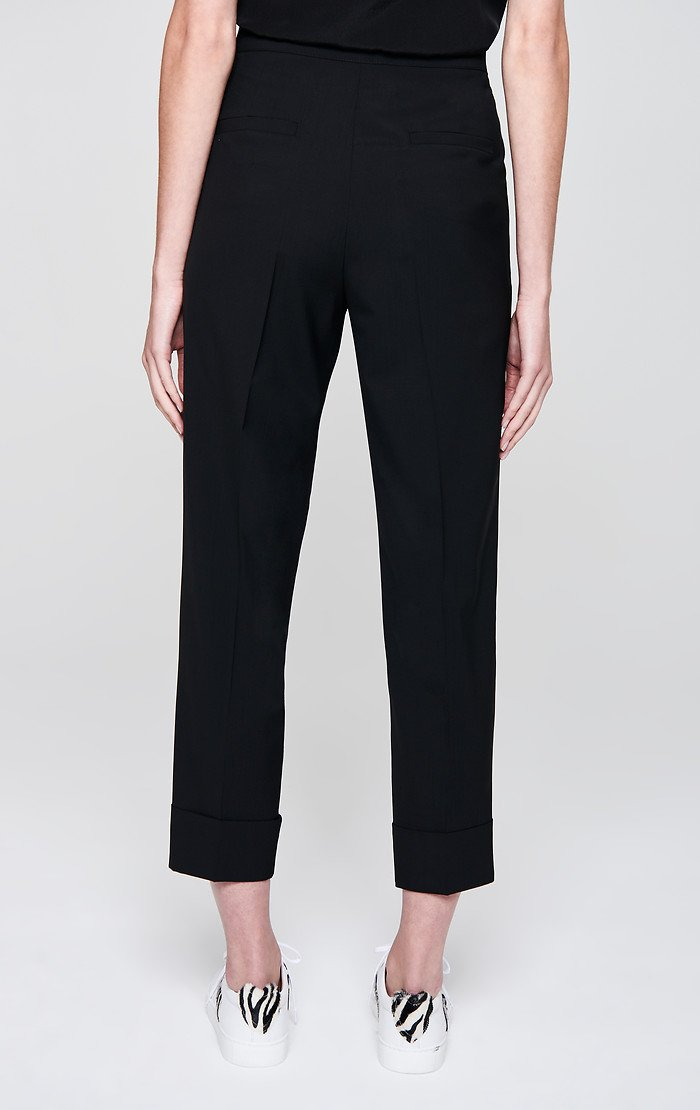 Virgin Wool Cropped Pants - ESCADA ?id=16179933282436