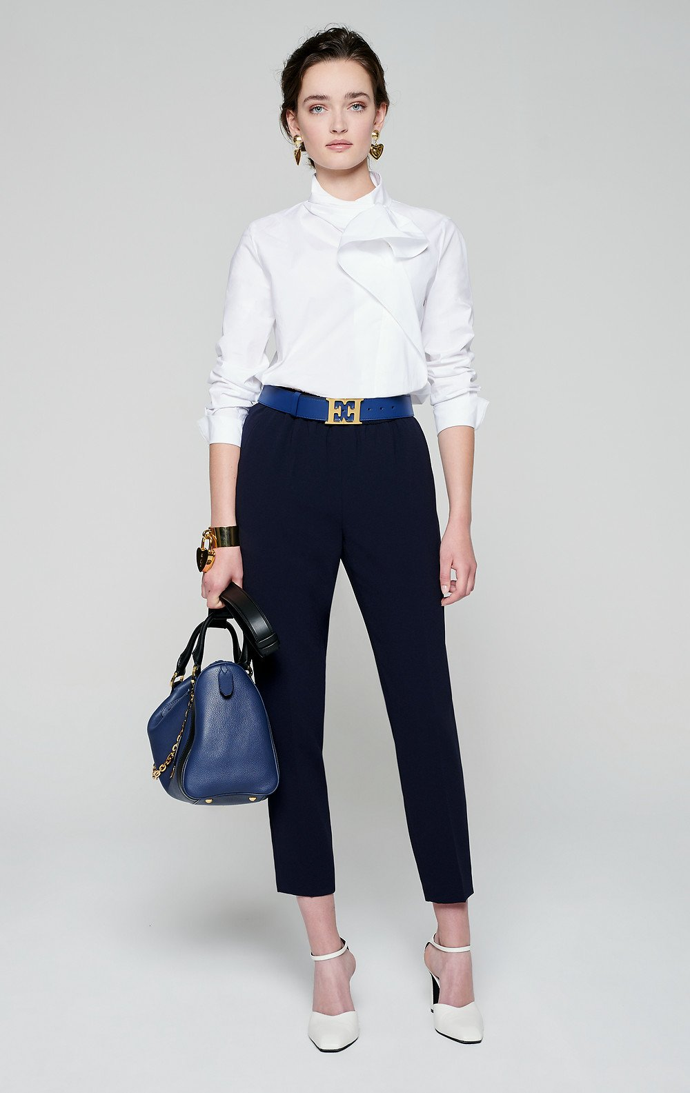 Crepe Tapered Pants - ESCADA ?id=16401107320964