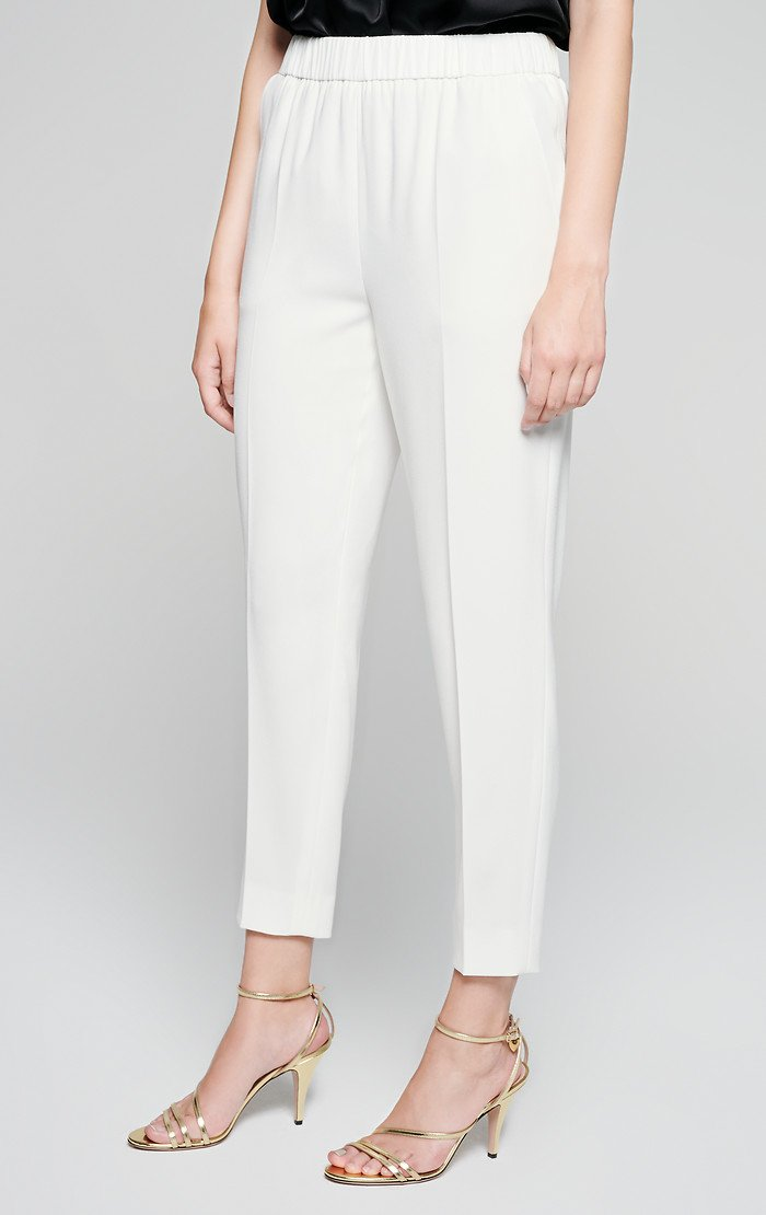 Crepe Tapered Pants - ESCADA ?id=16401107189892