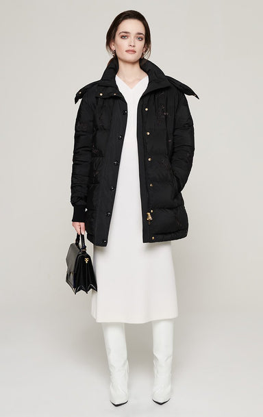 ESCADA Hooded Down Puffer Jacket