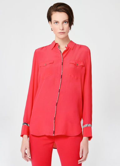 ESCADA Fluid Viscose Silk Blouse