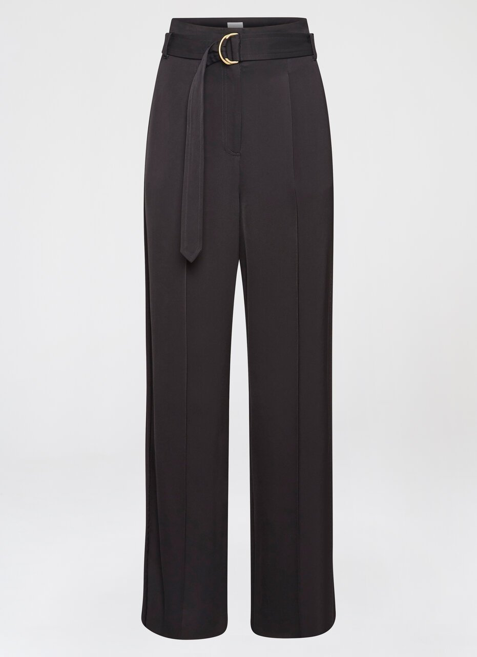 Crepe Belted Wide-Leg Pants - ESCADA ?id=16464465559684