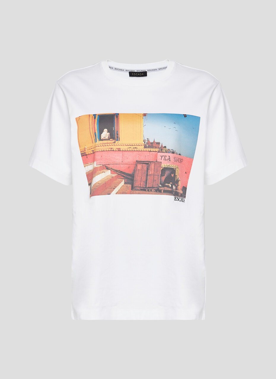 Photo Print T-shirt - ESCADA ?id=16464453042308
