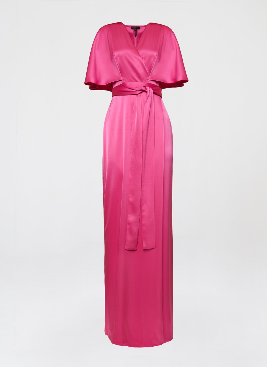 Fluent satin gown - ESCADA ?id=16401990975620