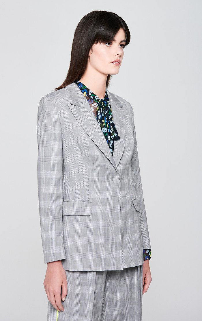 Wool Check Blazer - ESCADA ?id=16179944685700