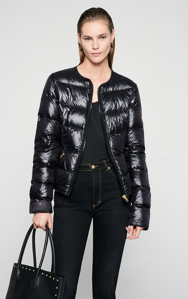 Glossy Quilted Down Jacket - ESCADA ?id=16401098473604