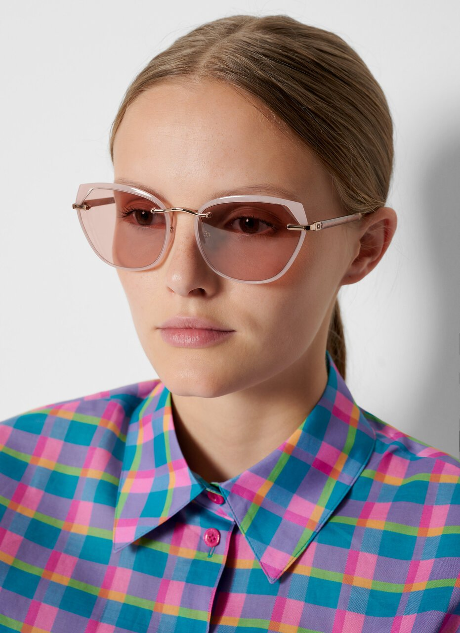 Oversized Cat-Eye Sunglasses - ESCADA ?id=16841028763780