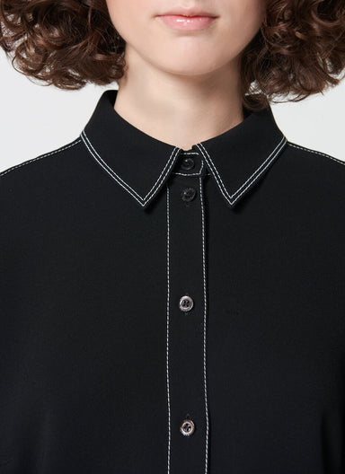 Basic shirt with stitching detail - ESCADA ?id=16490454941828