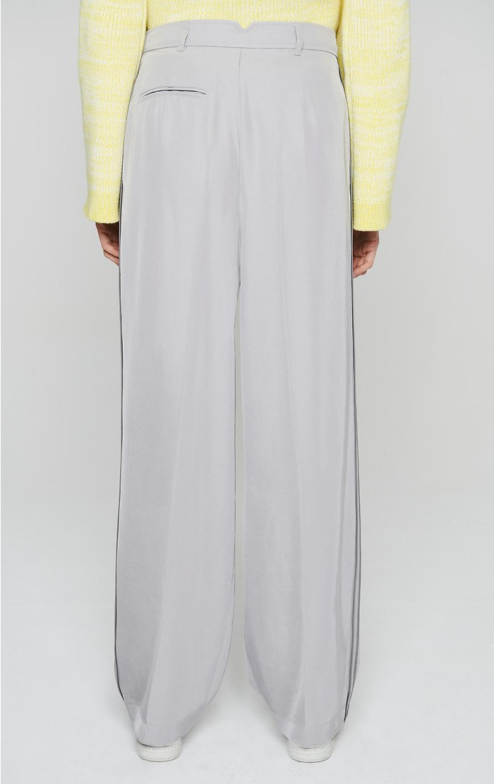 ESCADA Side Stripe Wide Leg Pants