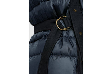 ESCADA Material Mix Quilted Down Coat