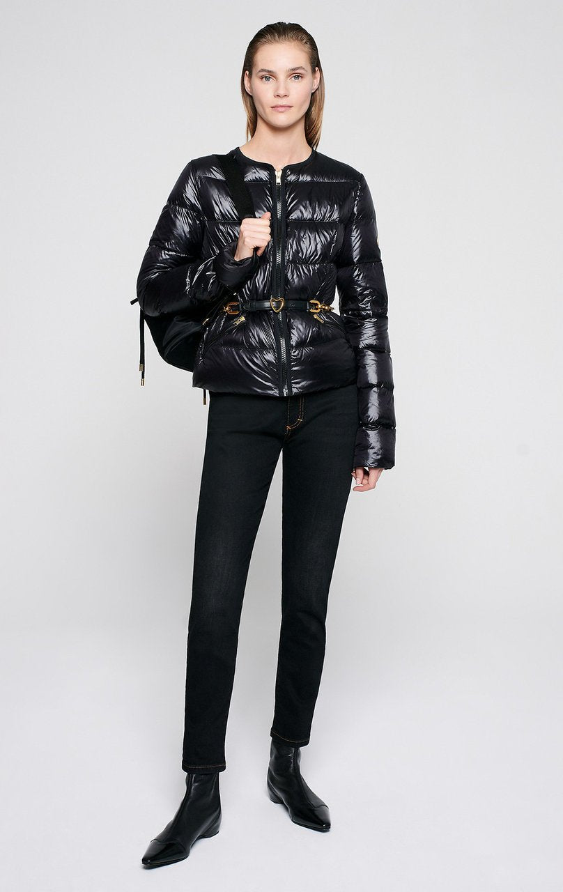 Glossy Quilted Down Jacket - ESCADA ?id=16401098735748