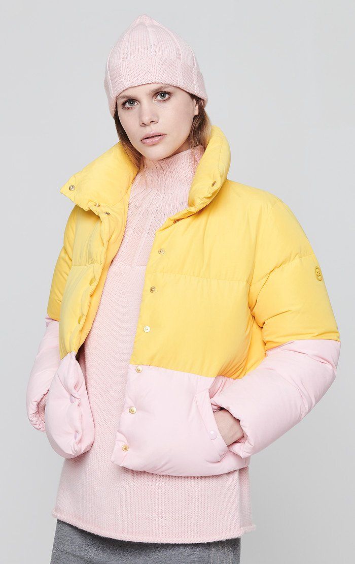 Color Block Down Jacket - ESCADA
