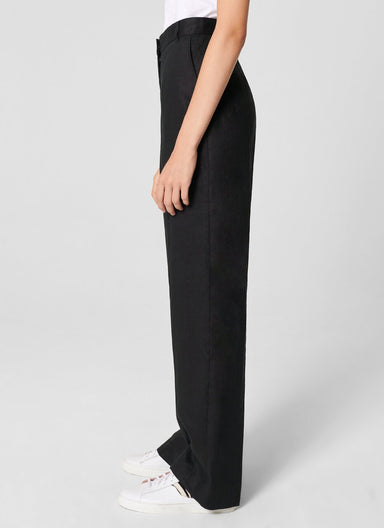Linen Straight Pants - ESCADA ?id=15624848998532