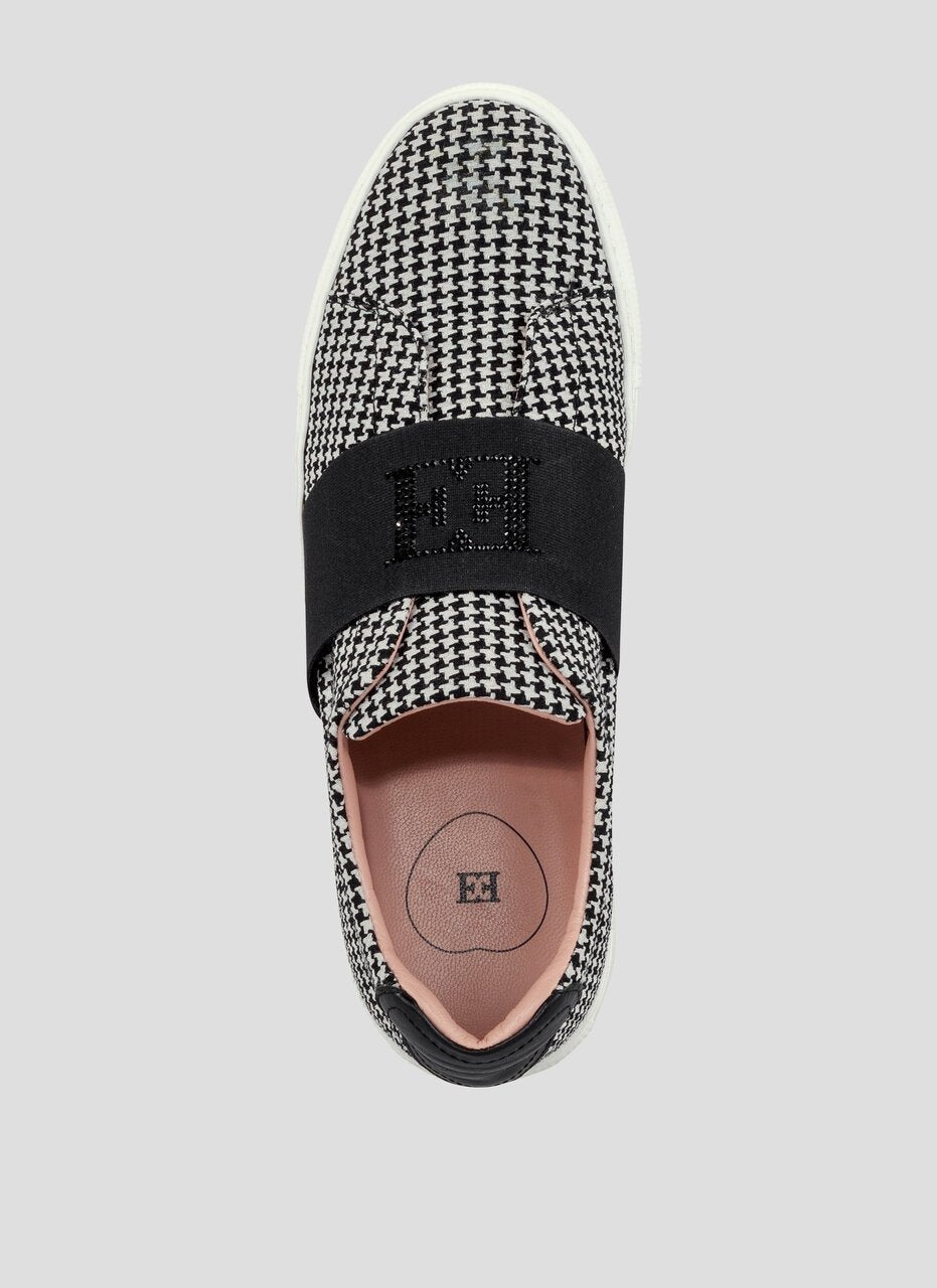 ESCADA Bi-color logo slipper