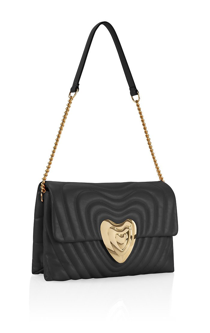 Medium Leather Heart Bag - ESCADA