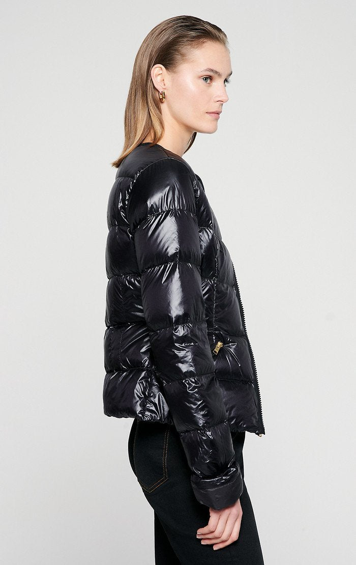 Glossy Quilted Down Jacket - ESCADA ?id=16401099128964